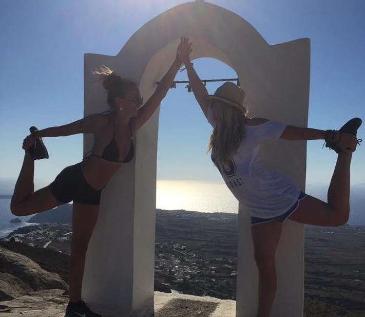 Sunshine, Sailing & Yoga in Santorini, Greece