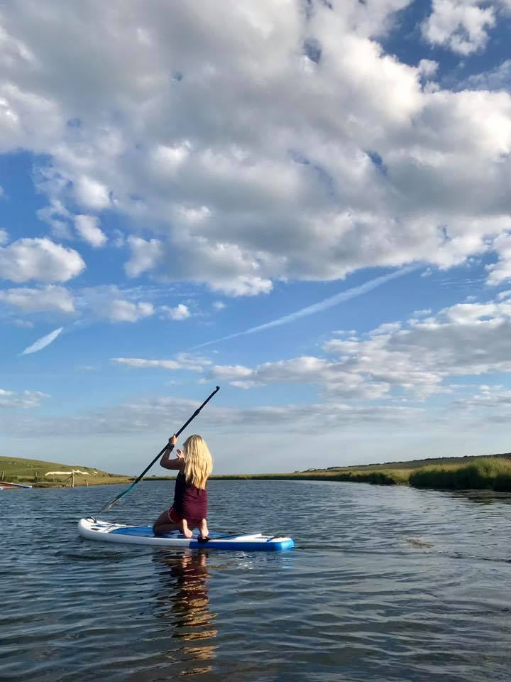 SUP and Yoga in Cuckmere Valley
