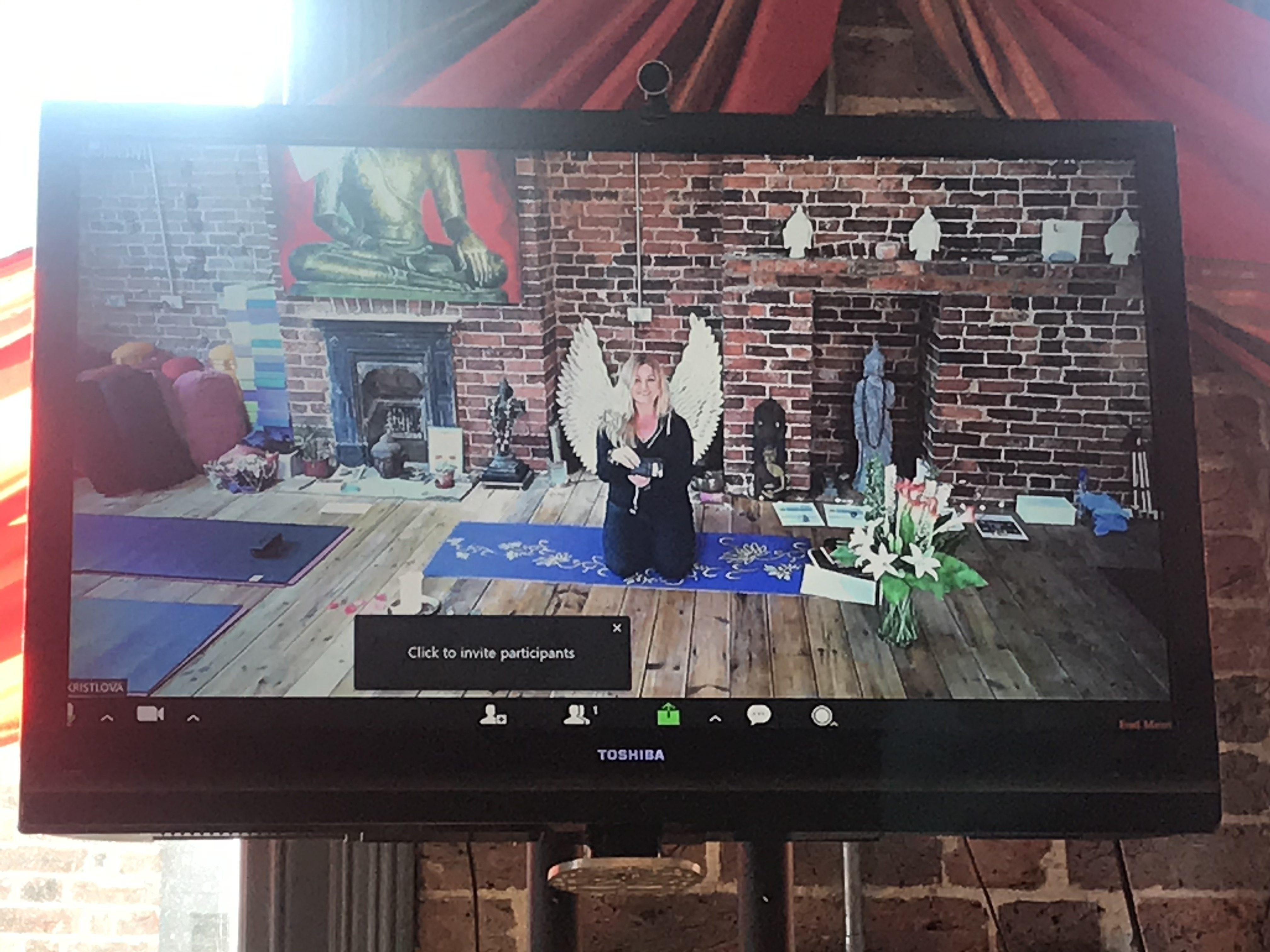 Moving Yoga Online